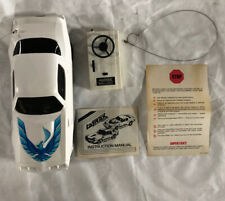 Latrax Radio Controlled Vintage Formula FireBird White And Blue Remote RC Car