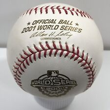 Rawlings 2001 World Series Official Baseball Diamondbacks vs Yankees w/Box