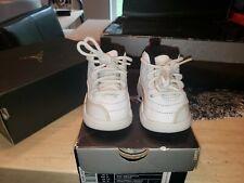 Nike Air Jordan Retro 12 white Toddler Size 3C