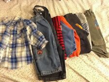 LOT 12 Months Boy Long Sleeves Pants Jeans Overalls