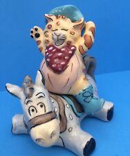 New Ride Em Catboy Salt & Pepper Shakers (Studio H by Heather Goldminc)