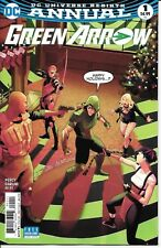 DC Comics Rebirth GREEN ARROW ANNUAL #1 first printing