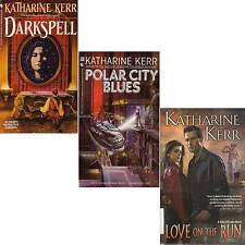 LOT 3 PB Katharine Kerr POLAR CITY BLUES DARKSPELL LOVE ON THE RUN