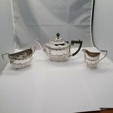 3tlg. Tee Service London 1904 Sterling Silber 925  punziert