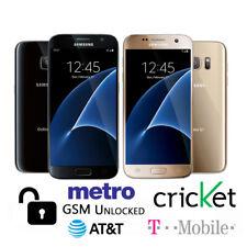 Samsung Galaxy S7 32GB SM-G930 (GSM Unlocked) Black / Gold Smartphone