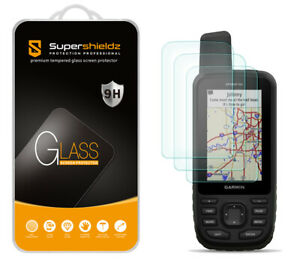 3X Tempered Glass Screen Protector for Garmin GPSMAP 66i 66s 66st 66sr