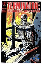 """THE TERMINATOR- SECONDARY OBJECTIVES"" Issue # 4 (Oct, 1991) (Dark Horse Comic)"