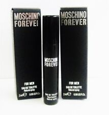 Moschino Forever EDT For Men 2ml .06oz SPRAY Sample x 2 PCS