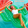 Giant Inflatable Cactus Float Raft Swimming Pool Beach Lounger Chair Bed Toy
