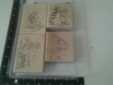 Stampin' Up 2004 Sweet Seasons Stamp Set Of 4 G/U ExCondition