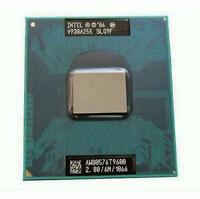 Intel Core 2 Duo T9600 SLG9F 2.80GHz 6MB Cache 1066MHz CPU Processor