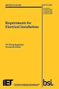 IET Wiring Regulations by The IET (Paperback, 2015)