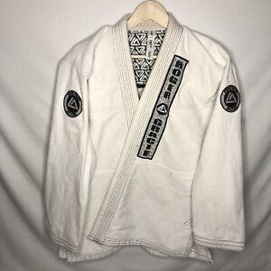 Roger Gracie Academy Shoyoroll Kimono Jiu-Jitsu Competitor Jacket White A2