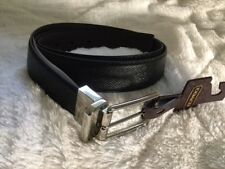 NWT COACH F59116 MODERN HARNESS CUT TO SIZE REVERSIBLE SMOOTH LEATHER BELT