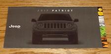 Original 2017 Jeep Patriot Sales Brochure 17 Altitude Latitude Sport SE