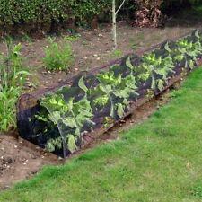 3m Black Net Plant Grow Tunnel Allotment Protector Garden Mesh Veg Greenhouse