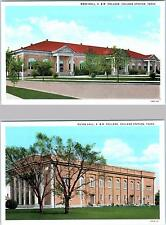 COLLEGE STATION, Texas  TX    A. & M. COLLEGE  Mess Hall, Guion Hall  Postcard