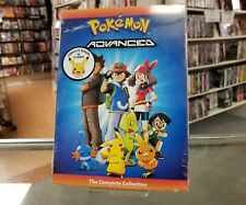 Pokemon Advanced: The Complete Collection (DVD, 2017, 5-Disc Set) NEW SEALED