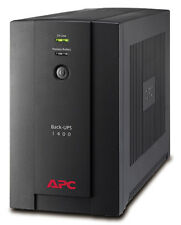 APC BX1400U-GR Back-UPS BX 1400VA, 230 V, AVR, 4-fach Schuko-Ausgänge USV-System