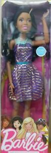 """Barbie 28"""" Just Play Best Fashion Friend African American Mattel 2013 Poseable"""