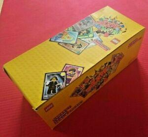 Create The World Lego Full Box Sainsburys 2017 Cards 300 packs of 4 Cards 1200