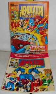LOTTO 2 FUMETTI VENDICATORI GIGANTE 5 e 10 Iron Man Thor (Ed. Corno 1980/1981)