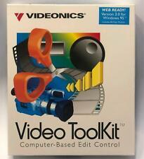 Videonics Video ToolKit Computer Based Edit Control V 3.0 Windows 95 New Sealed