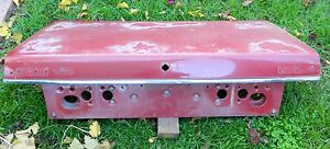 Vehicle: 1986-91 MAZDA 929 HC  BOOT LID