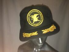 Vintage Nra Trucker Hat Mesh Snapback National Rifle Fred Perry Style Epstein