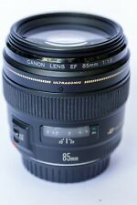 Canon EF 85mm F/1.8 USM Telephoto Lens PRIME
