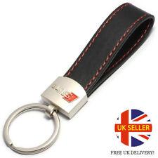 NEW DESIGN AUDI SLINE Leather Keyring Keychain STYLISH A1 A2 A3 A4 A5 A6 A8