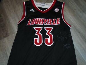 Louisville Cardinals Basketball Jordan Nwora Adidas Game Used Black 17/18 Jersey
