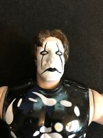 WCW NWO Sting 6.5-Inch Action Figure by Toymakers from 1997 Complete with Bat
