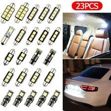 23pcs Set LED Car Light Bulb Interior Map Dome Trunk License Plate Lamps Kit