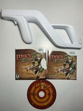 Nintendo Wii Zapper Gun with Links Crossbow Training Game Official