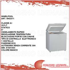 CONGELATORE A POZZETTO CLASSE A+ 207LT STATICO WHIRLPOOL WH2011 BIANCO