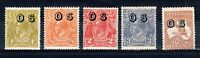 Australia 1932-33 Sidehead and Kangaroo OS opt values MLH/MH