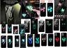 Marvel luminous tempered glass night light up phone case Iphone 7/8+ 11 pro max