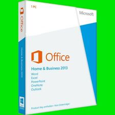 Microsoft Office 2013 Home & Business | *Limited Offer* | 1PC | Windows | Full