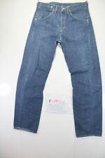 Levis Engineered 835 Indigo(Cod.F1951)Tg46 W32 L34 jeans usato Vita Alta Vintage