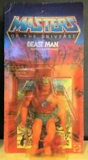 1982 MASTERS OF THE UNIVERSE BEAST MAN MOC UNPUNCHED GREEN WHIP MALAYSIA