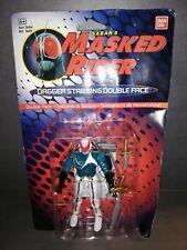 MASKED RIDER Dagger Stabbing Double Face  von Ban Dai OVP NEU von 1995 Figur