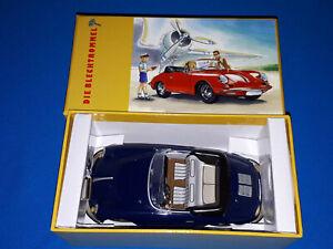 Tin wind up toy DIE BLECHTROMMEL Porsche 356 Carrera Cabriolet