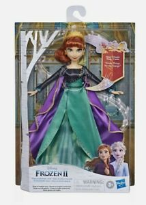"""Disney Frozen Musical Anna Singing Doll Sings """"Some Things Never Change'' Toy"""
