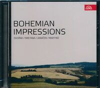 Bohemian Impressions CD NEW Dvorak Smetana Janacek Martinu Prague Philharmonic