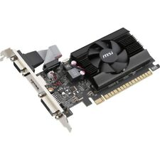MSI GeForce 710 Graphics Card  -  2GB 64-bit DDR3 - Includes Fan Cooler - NVIDIA