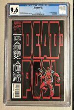 Deadpool #1 CGC 9.6 WP