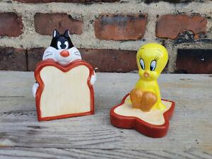 Außergewöhnliches Set Salz, Pfeffer, Looney Tunes, Tweety - WB (s01) - Nr. 983
