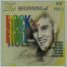 CD NEUF scellé- BEGINNING OF ROCK N ROLL Vol1/ Coffret 3 CD - 60 Titres - CD 153