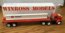 Winross White Ryerson Tractor/Flatbed Trailer 1/64
